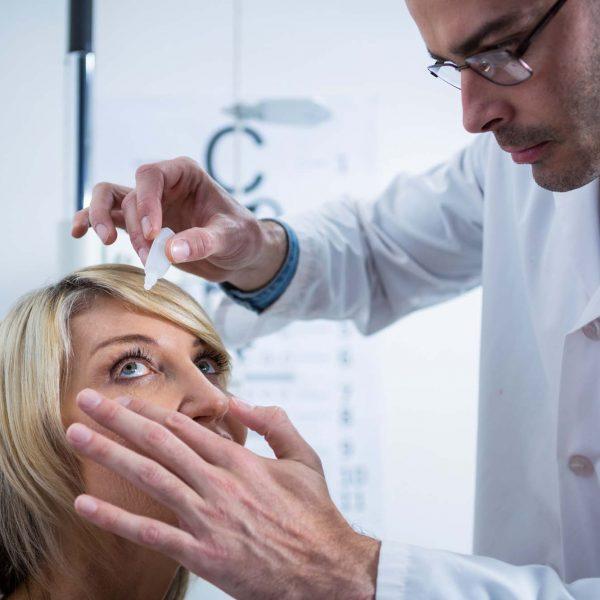 Pupil Dilation Wimbledon